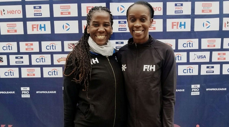Former national women's team hockey duo, Reyah Richardson and Ayanna Mc Clean will be flying this country's flag high at next year's Olympic Games in Tokyo, Japan after being haned Federation International Hockey (FIH) appointments.